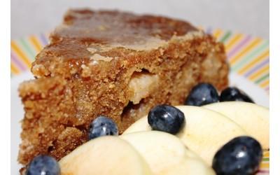 Ābolu kūka ar karameli